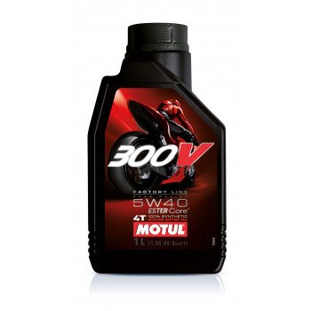 MOTUL 300 V 4T Factory Line Road Racing SAE 5W40 (1L)